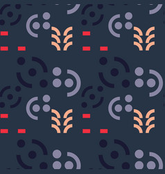 Graphic message seamless pattern vector