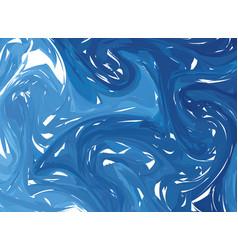 marble imitation blue background vector image