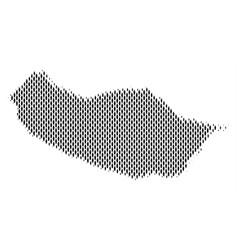 Portugal madeira island map population vector