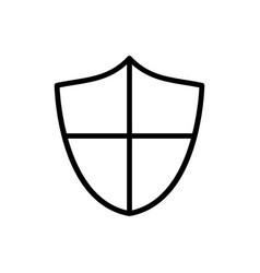 Shield icon protection icon vector