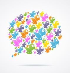 Social Media Communication vector image