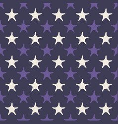 ultra violet starfish seamless pattern vector image