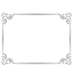 Simple Swirl Frame Vector Images Over 1100