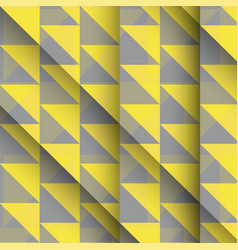 Yellow and grey low poly geometric background vector
