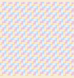 thai style pattern pastel color vector image
