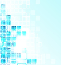 Glass Cubes Background vector image vector image