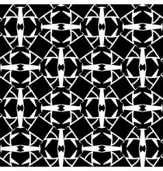 Abstract monochrome cells lattice pattern vector