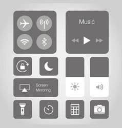 App touchscreen smart phone mobile icon vector