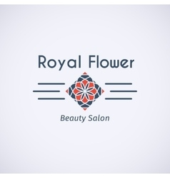 Asian logo template vector