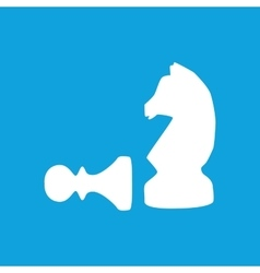 Chess icon simple vector image