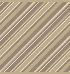 Coffee color striped background seamless pattern vector
