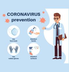 Coronavirus prevention doctor explain how vector