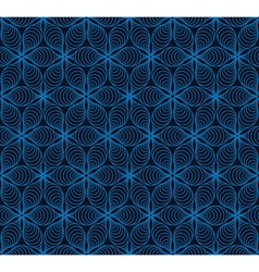 Laced abstract dark blue background vector