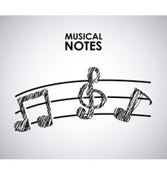 musical vector image
