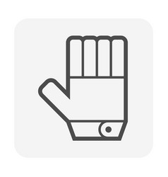 safety glove or equipment or personal vector image