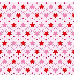 Star seamless texture vector image