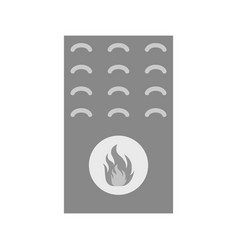 gas furnace vector image vector image