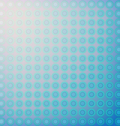 Abstract design blue circles vector image
