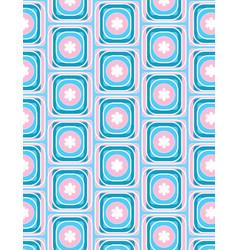 blue geometric rectangle pattern vector image