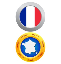buttons as a symbol of France vector image vector image