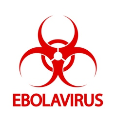 Ebola stamp vector image