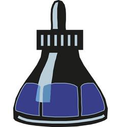 Inkwell bottle design vector