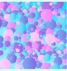 pink purple blue turquoise watercolor vector image