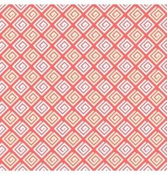 Romantic seamless pattern vector image