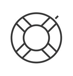 A swimming circle vector
