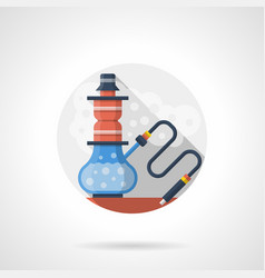 hookah shop color detailed icon vector image