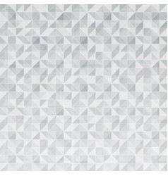 abstract geometric triangle pattern mosaic vector image vector image