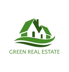 Icon house for real estate business vector image vector image