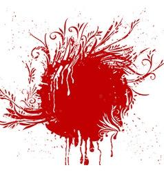 Grunge Ornament Design vector image