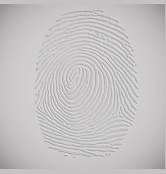 3d fingerprint vector