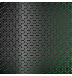 Abstract background with green backlight vector image