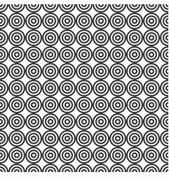abstract target seamless pattern vector image