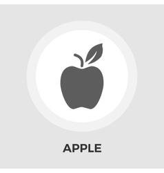 Apple flat icon vector
