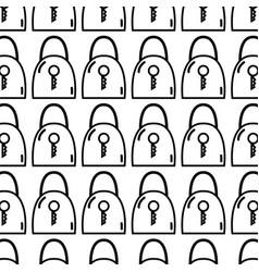 Figure padlock security tool service background vector