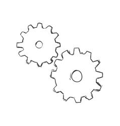Gear icon Tool design graphic vector