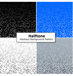 halftone abstract scattered pattern dots vector image