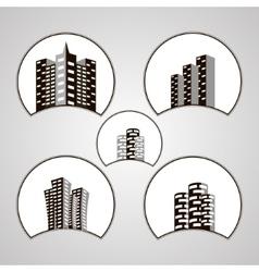 House logo design template vector image