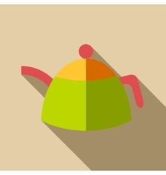Kettle icon flat style vector