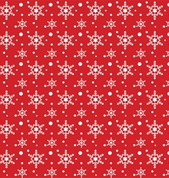 SnowFlakes Pattern Background vector image