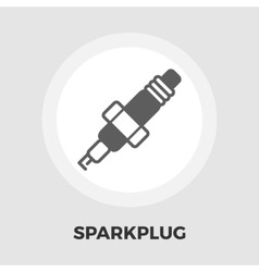 Sparkplug icon flat vector image