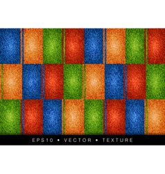 texture grain four color vector image