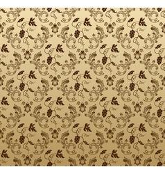 seamless wallpaper background grapes vegetative vi vector image vector image