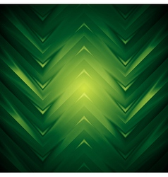 Abstract dark green design vector image vector image