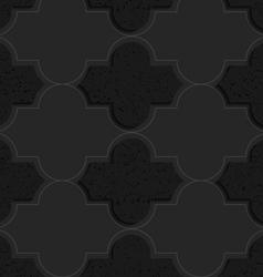 Black textured plastic basic Marrakech vector