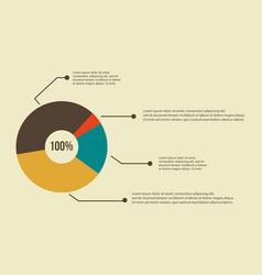 Business infographic diagram concept design vector