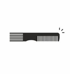 Comb icon vector